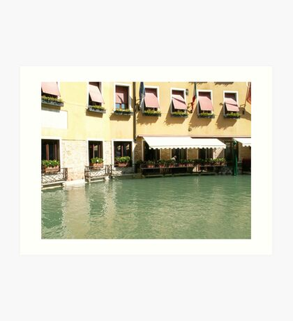 Near water in Venice Art Print