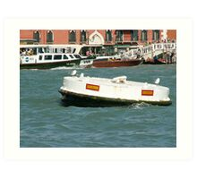 Welcome to Venice Art Print
