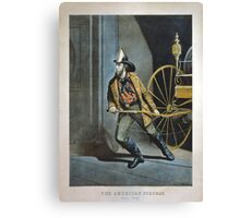 The American Fireman Canvas Print