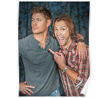 Jared fangirling over Jensen Poster