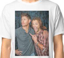 Jared fangirling over Jensen Classic T-Shirt