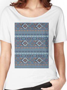 Aztec Pattern T-Shirt Women's Relaxed Fit T-Shirt