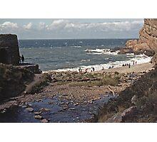 Devon Beach Photographic Print