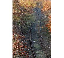Autumn Line Photographic Print