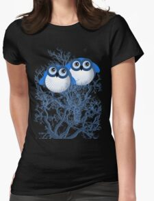 BLUE OWLS Womens Fitted T-Shirt