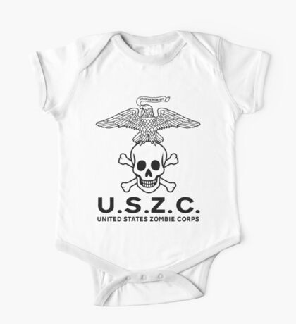 United States Zombie Corps. One Piece - Short Sleeve