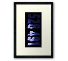 Inception - 528 491 Framed Print
