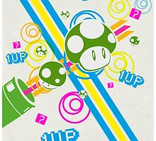 1 UP by holecreative