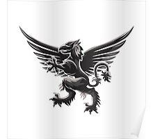 Griffin Emblem Poster
