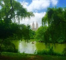 Central Park Boat Ride by umeimages
