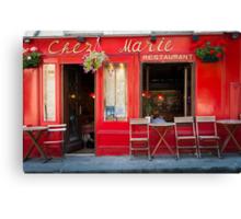 Paris: Chez Marie Canvas Print