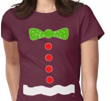Gingerbread Man Halloween costume  Womens Fitted T-Shirt