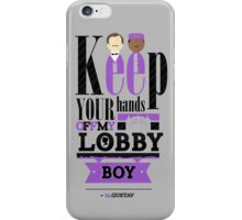 Lobby Boy  iPhone Case/Skin