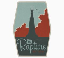 RAPTURE - Gaming Luggage Labels Series by A.J.  Hateley