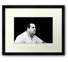 The Barista ... Framed Print