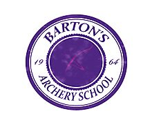 The Barton School of Archery Photographic Print