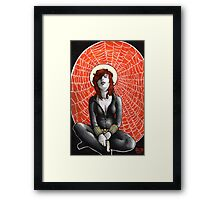 Black Widow's Web Framed Print
