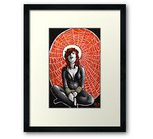 Black Widow's Web Framed Print