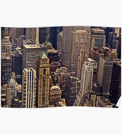 New York City Architecture Poster