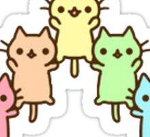 Cute Tumblr Pastel Rainbow Cats Sticker