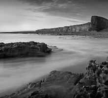 Nash Point October 010 Black & White by Paul Croxford