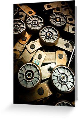 Gears [ iPad / iPod / iPhone Case ] by Mauricio Santana