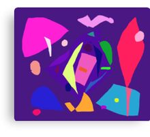 Do Your Best as a Human Being Purple Daylight Canvas Print