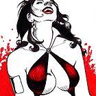 Vampirella - Joy of the Hunt by Laura Guzzo