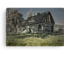 six shooter shelter Canvas Print