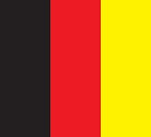 Germany Flag Phone Cover by Matt Burgess
