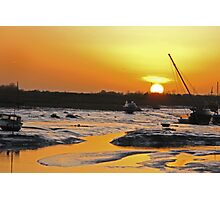 Mill Fleet, Leigh-on-Sea, Essex Photographic Print