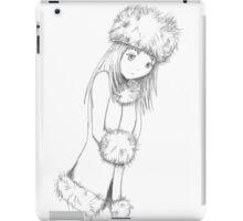 Manga snow iPad Case/Skin