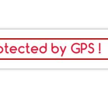 GPS protection dummy Sticker