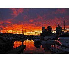 Waterfront and Marina, Ipswich, Suffolk Photographic Print