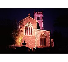 Saint Mary's Parish Church, Woodbridge, Suffolk Photographic Print