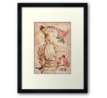 Mademoiselle Couture Framed Print
