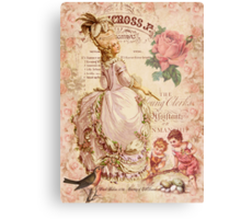 Mademoiselle Couture Canvas Print