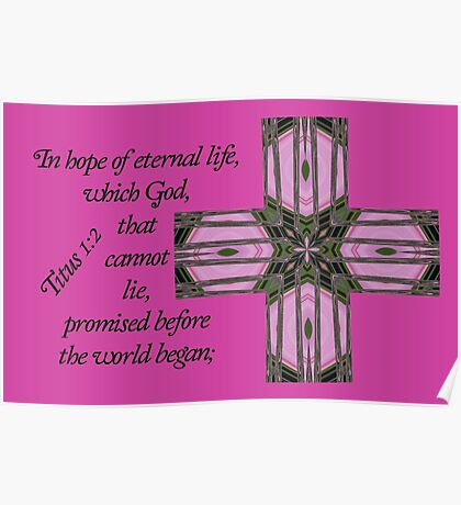 In Hope of Eternal Life Poster