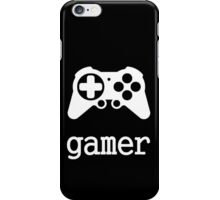 Gamer (joystick version) iPhone Case/Skin