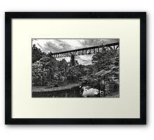 Trestle Framed Print