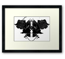 InkBlot Witches Framed Print