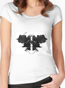 InkBlot Witches Women's Fitted Scoop T-Shirt