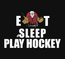 Eat Sleep Play Hockey by SportsT-Shirts