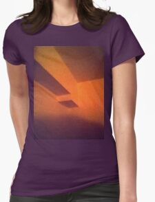 Retro Flipped Womens Fitted T-Shirt