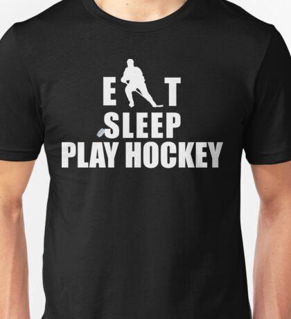 Eat Sleep Play Hockey Unisex T-Shirt