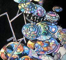 Melvins Double Drum Kit by janfitc