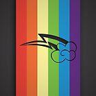 Rainbow Dash Cutie mark by mikeAguy1