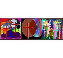 Cross Intersection ~ Triptych Photographic Print
