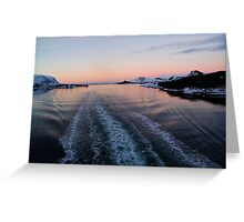 Fjord, Norway Greeting Card