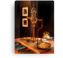 Tea Scale Canvas Print